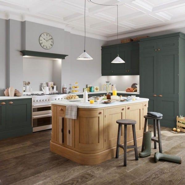 optiplan rounded kitchen island