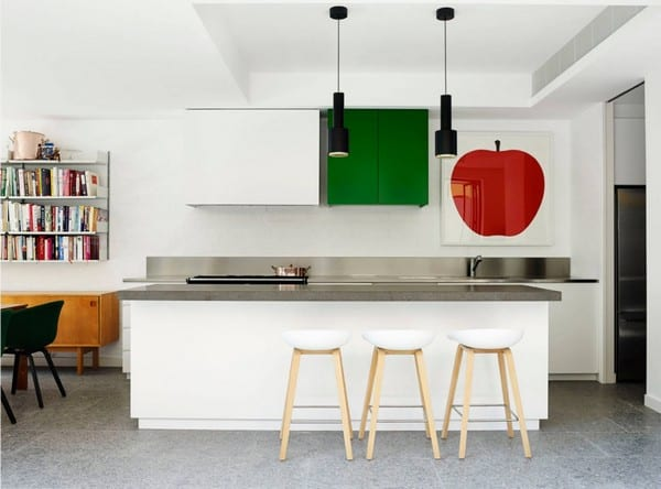 Arent and Pyke accented kitchens