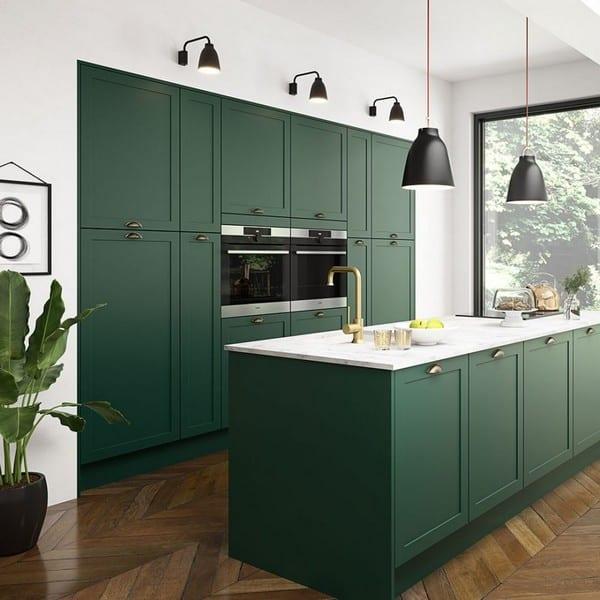 Magnet T Dunham green kitchen