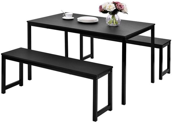 black-dining-set-with-bench-julyfox-modern-dining-room-tables