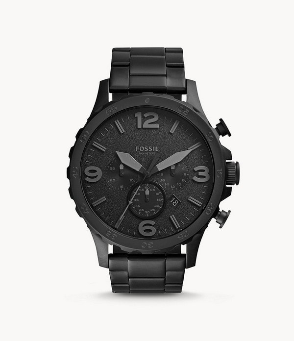 fossil-mens-nate-stainless-steel-chronograph-quartz-watch