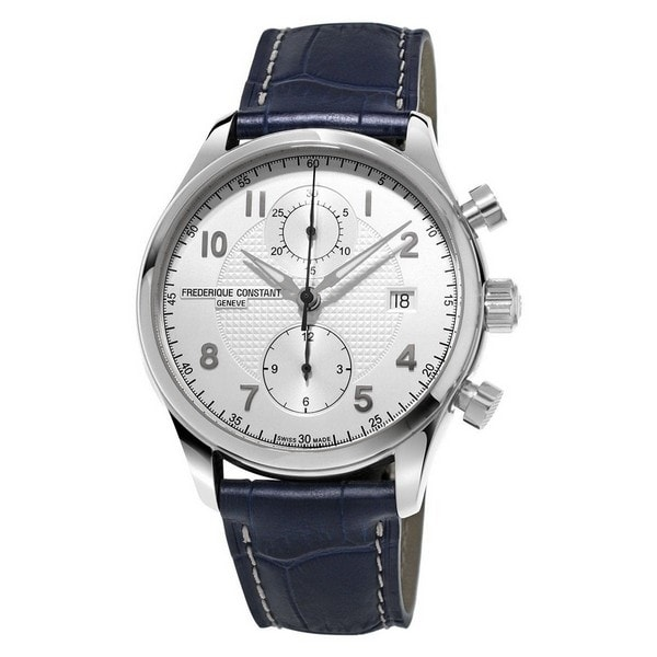 frederique-constant-mens-runabout-silver-dial-blue-leather-strap-chronograph