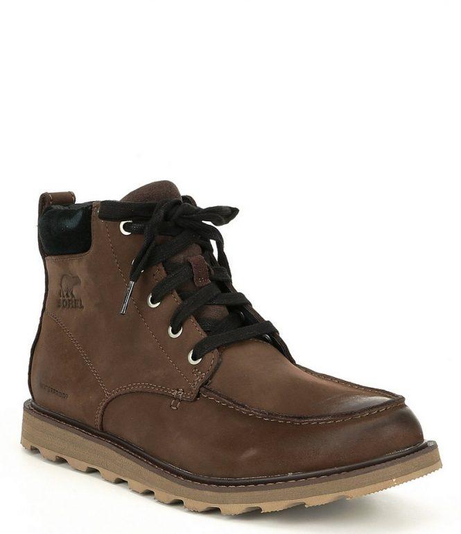 sorel-mens-madson-moc-toe-waterproof-leather-boots