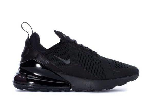 Nike Womens Air Max 270 Running Shoe Black