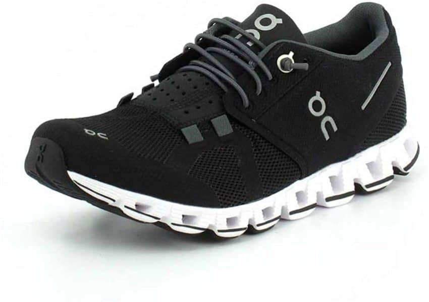 On Running Womens Cloud X Textile Synthetic Trainers black
