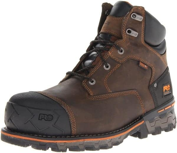 Timberland PRO Men's Boondock 6 inch Waterproof-M Brown Oiled Distressed Boot