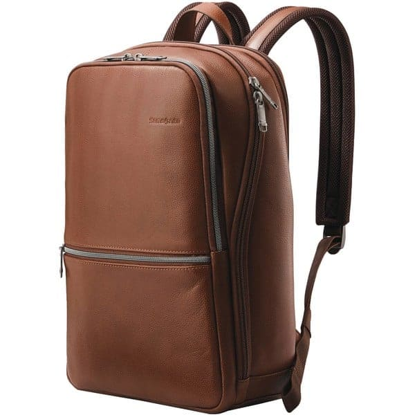 samsonite-classic-leather-slim-backpack